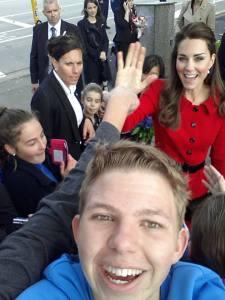 kate selfie